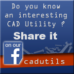 Share interesting CAD Utility on our Facebook