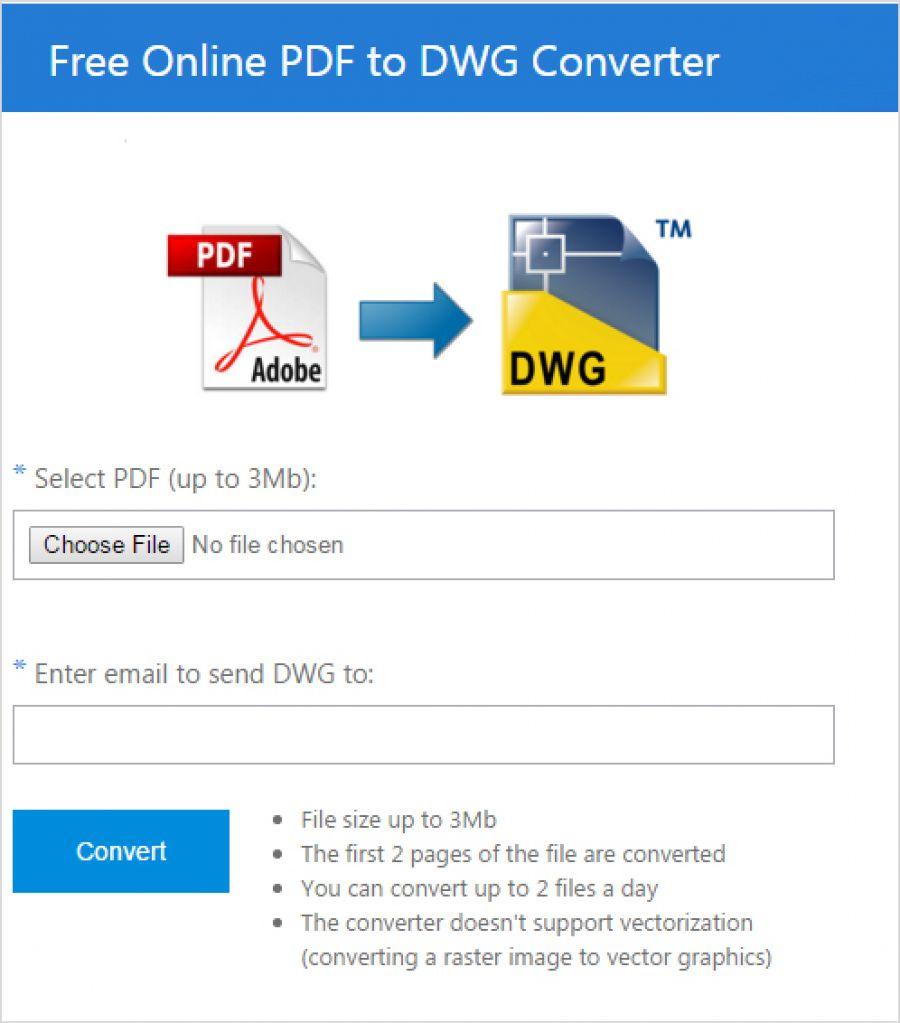 Онлайн DWG в PDF конвертер - coolutils.com
