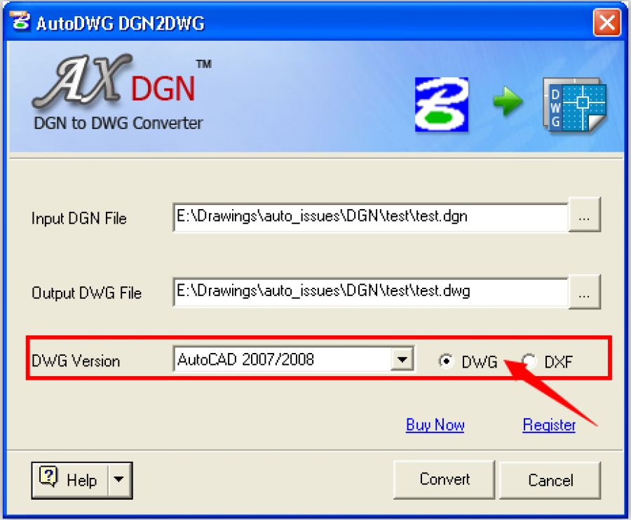 Autodwg dgn to dwg standard for Dwg to kmz converter