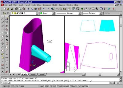 Litio sheet metal for AutoCAD and GStarCAD