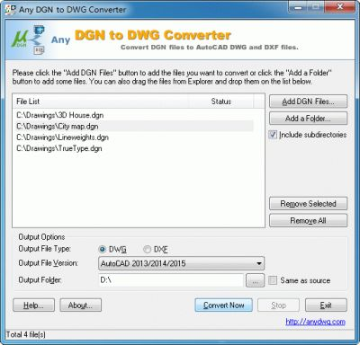 Any dgn to dwg converter for Dwg to kmz converter