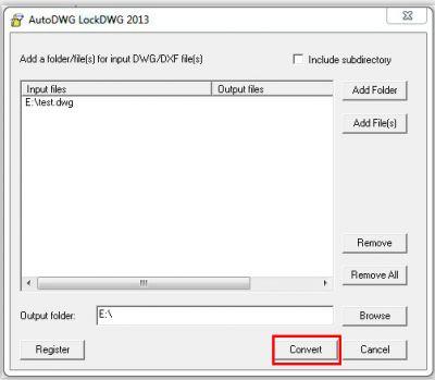 Dwglock standard for Dwg to kmz converter
