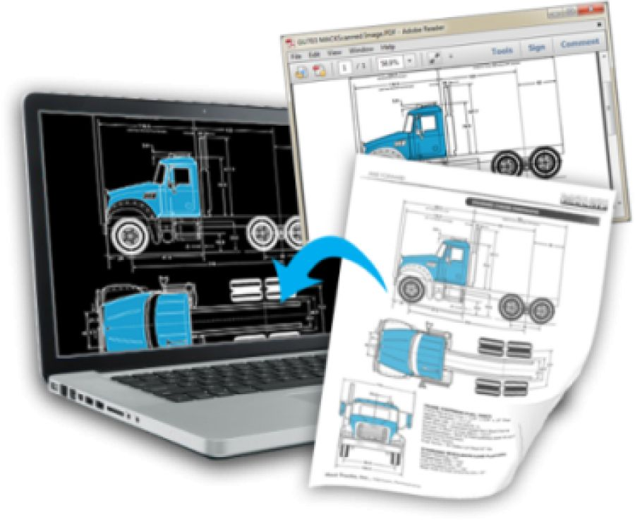 Autodwg pdf to dwg stand alone for Pdf a cad