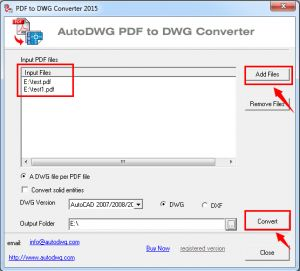 pdf to dwg converter 2016