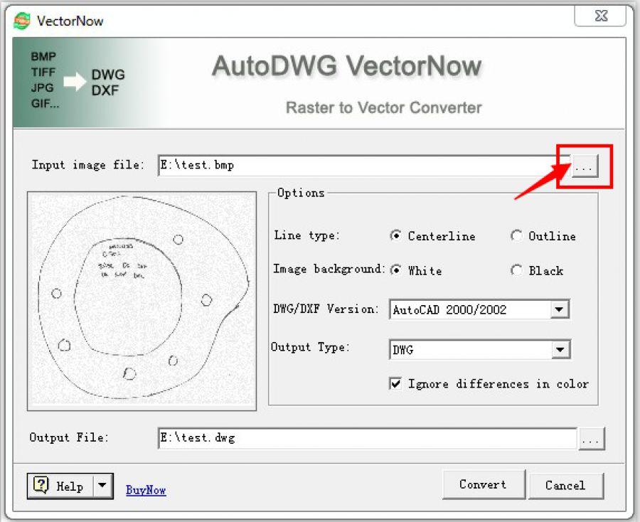 Vectornow for Dwg to kmz converter